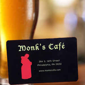 monks cafe gift card